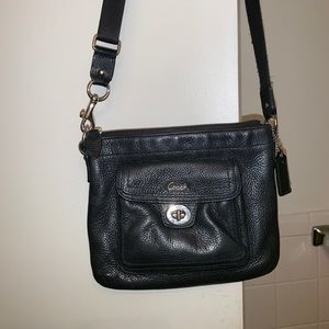 Coach small black crossbody